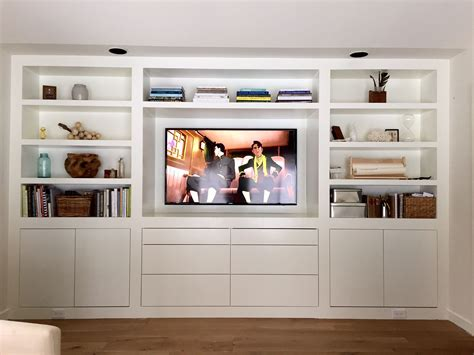 Wall Cabinets Living Room - the room of requirement built ins liess
