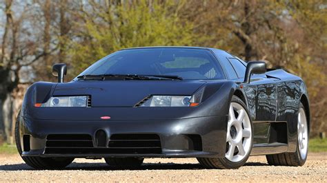 Top speed of 216 mph. 1992 Bugatti EB110 GT Specs Wallpaper