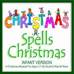 CHRISTMAS Spells Christmas For INFANTS Infant and