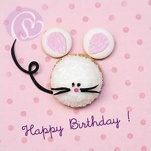 Happy Birthday Maus : camille soulayrol postkarte happy birthday maus schreib mal wieder ~ Buech-reservation.com Haus und Dekorationen
