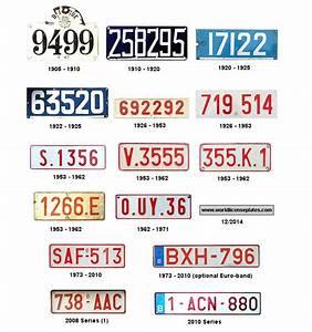 Immatriculation Voiture Belge : les plaques d 39 immatriculation belge le blog du mono ~ Gottalentnigeria.com Avis de Voitures