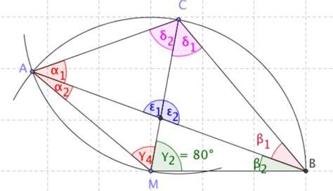 winkel  kreis berechnen geometrie mathelounge