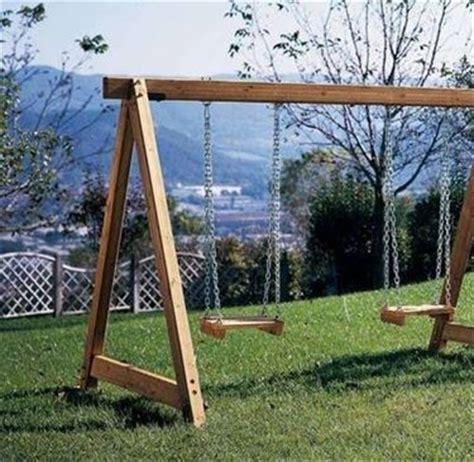 altalene da giardino in legno altalene in legno giochi da giardino