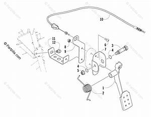 Arctic Cat Side By Side 2008 Oem Parts Diagram For Accelerator Assembly