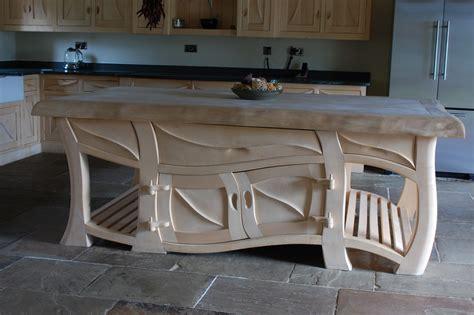 handmade kitchen island kitchens sculptural kitchens handmade kitchens