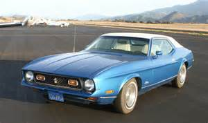 1972 Mustang Coupe Blue