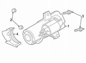 Ford Fusion Starter Motor Spacer  Liter  Pin
