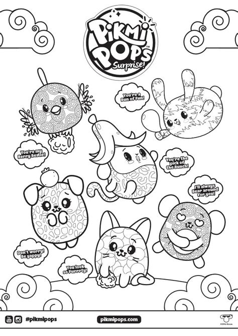 pikmi pops coloring page click  picture