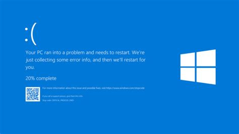 What Does Blue Screen Of Death Codes On Windows 10 Mean