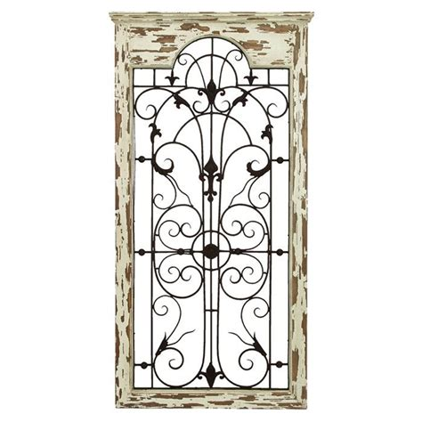 marvelous iron gate wall decor 7 wood and metal wall decor newsonair org