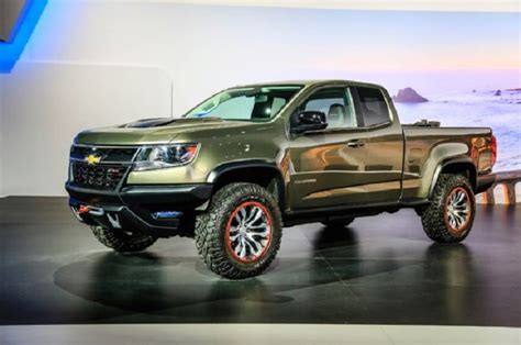 2018 Chevy Colorado Zr2 Redesign And Price