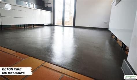 cuisiner des soles béton ciré sur carrelage amenagement intérieur beton ciré carrelage et beton