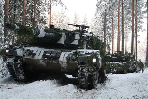 Tanks Leopard Snow Army tank military wallpaper