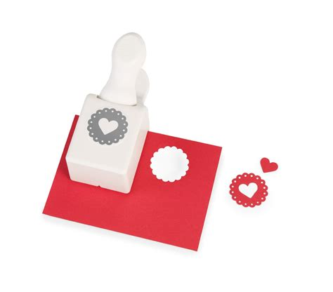 martha stewart craft heart punch fun holiday crafts