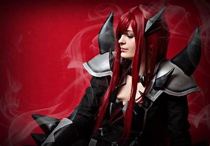 Erza Scarlet Armor Purgatory Wallpapers Hq 2521