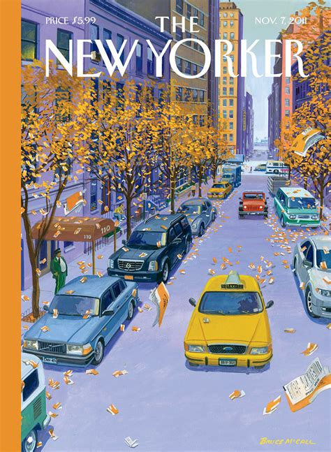 cover story glass houses  bruce mccall   yorker