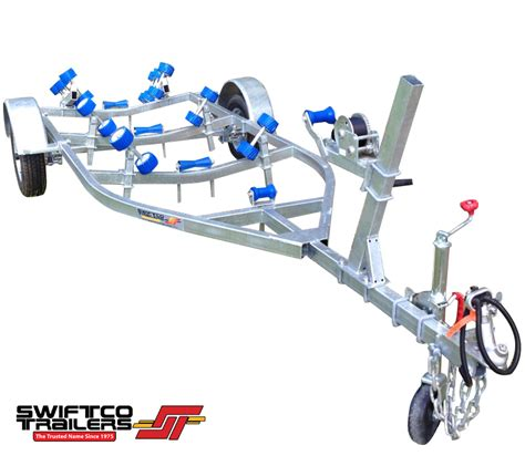 Boat Trailer Parts Townsville by Swiftco 4 Metre Boat Trailer Roller Type