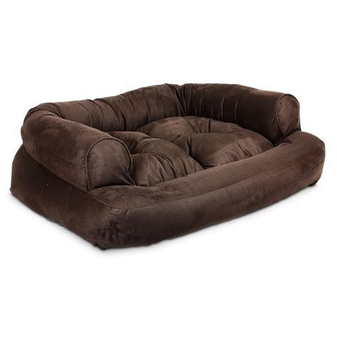 bed with bolster total fab luxury designer beds for small and large dogs