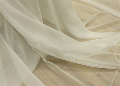Curtain Fabric> Plain Voile White-mad About Fabrics