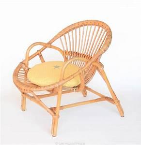 Coussin pour fauteuil en rotin for Fauteuil rotin rond