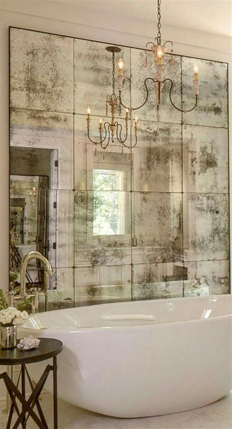 Mirror Tiles Bathroom by So Gorgeous Country Design Bathroom Design
