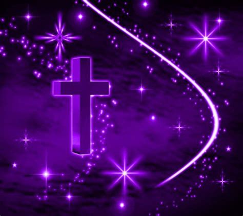 Animated Cross Wallpaper - free animated graphics wallpaper image purple