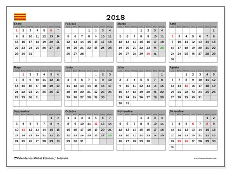 calendario cataluna michel zbinden es