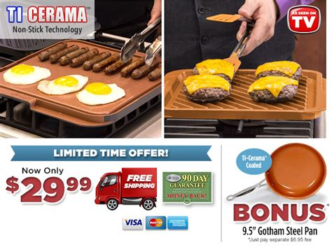 gotham steel double grill extra large  stick cooking surface double sided grill
