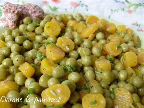 cuisiner petit pois en boite salade de petits pois la cuisine de quat sous