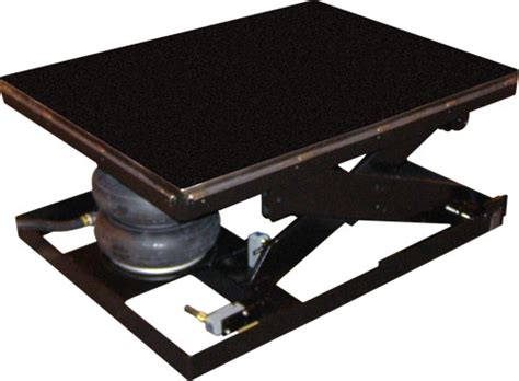 Pneumatic Air Bag Scissor Lift Tables