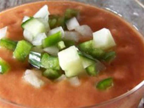 recette cuisine gaspacho espagnol recettes de gaspacho andalou