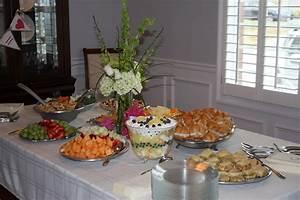 The kitchen ette bridal shower food ideas for Wedding shower food ideas