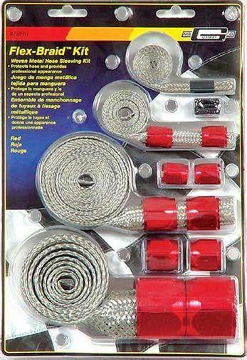 gasket  stainless steel braided hose sleeving kit