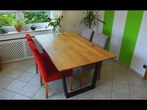 Küchentisch Selber Bauen : diy designertisch k chentisch selber bauen youtube ~ Sanjose-hotels-ca.com Haus und Dekorationen