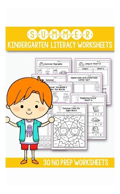 Summer Kindergarten Prep Literacy Instructions Activities Nerdy