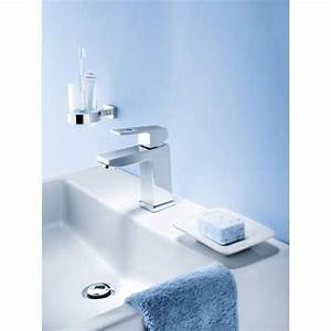 Mitigeur Grohe Lavabo : grohe eurocube mitigeur de lavabo chrom 23132000 ~ Dallasstarsshop.com Idées de Décoration