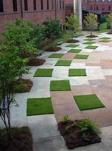 grass pavers yard landscape pinterest jardins With allee de jardin originale 6 le pas japonais pour circuler dans son jardin mon
