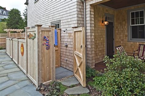 plans to build an outdoor bathroom papich landscape architecture traditional