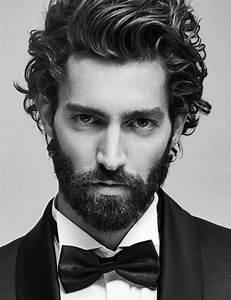 Coupe Cheveux Homme Long : coupe de cheveux mi long homme avec barbe ~ Mglfilm.com Idées de Décoration