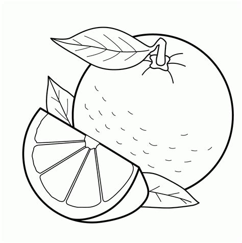 fruits coloring pages  coloring pages