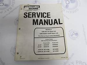 1995 Mercury Mariner Outboard Service Manual 90 95 120