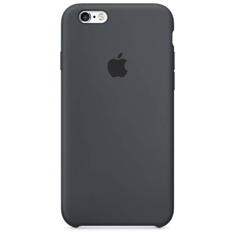 apple iphone 6 cases iphone 6s silicone charcoal gray apple