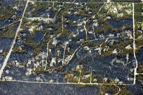 Aerial Pictures From Colorado Black Forest Fire Show ...