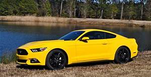 2015 Ford Mustang EcoBoost in Triple Yellow 139