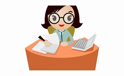 Working Clipart Office Secretary Clip