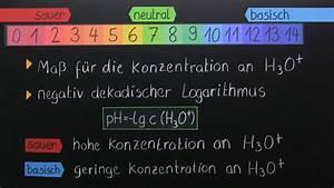 Ph Wert Berechnen Aufgaben : ph wert und indikatoren chemie online lernen ~ Themetempest.com Abrechnung
