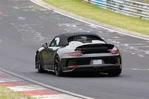 2019 Porsche 911 : 2019 porsche 911 speedster shows up at nurburgring looks like a jewel autoevolution ~ Medecine-chirurgie-esthetiques.com Avis de Voitures