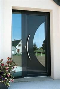 Porte Entrée Aluminium Rénovation : dika menuiserie portes d 39 entr es aluminium fabrication ~ Premium-room.com Idées de Décoration