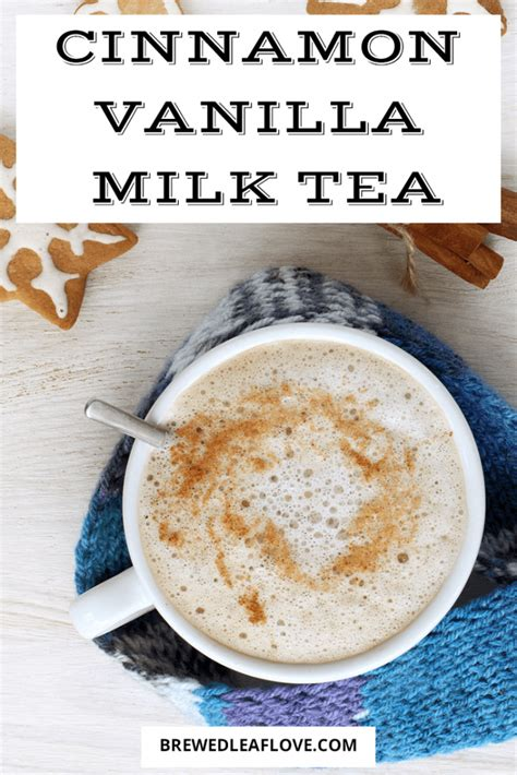 Every cup of boba milk tea had this signature condensed milk flavor that fused perfectly with the concentrated black tea. Decadent Frothy Cinnamon Vanilla Milk Tea Recipe - Brewed Leaf Love | Recipe in 2020 | Milk tea ...