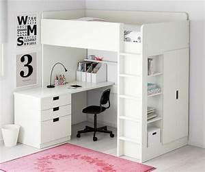 Ikea Jugendzimmer Möbel : hoch hinaus hochbett stuva von ikea bild 4 sch ner wohnen ~ Michelbontemps.com Haus und Dekorationen